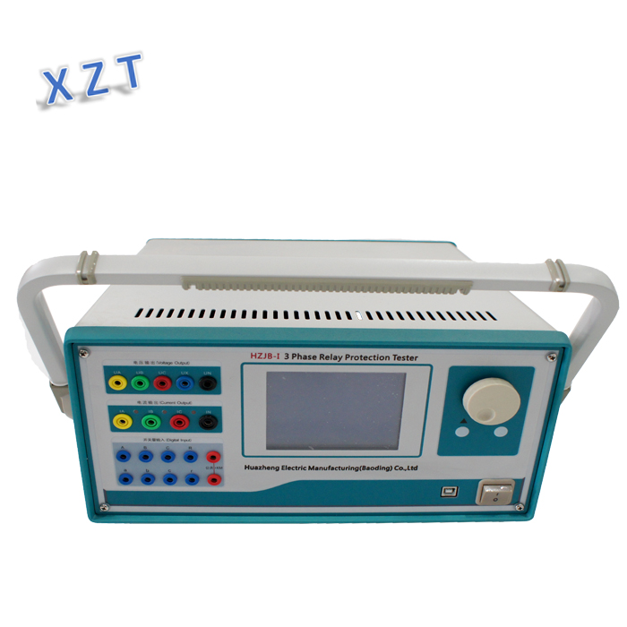 3 Phase secondary current injection relay protection tester