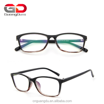 Man Classic Glasses Frame Women Vintage Rectangle Eyewear Optical ...