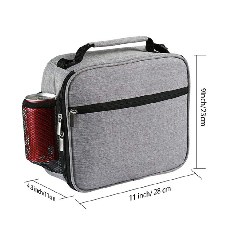 Osgoodway China Factory Custom Waterproof Aluminium Foil Portable Thermos Leakproof Lunch Box for Cooler Compartment