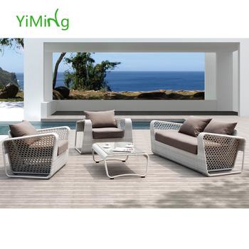 leisure ways white rattan garden outdoor furniture