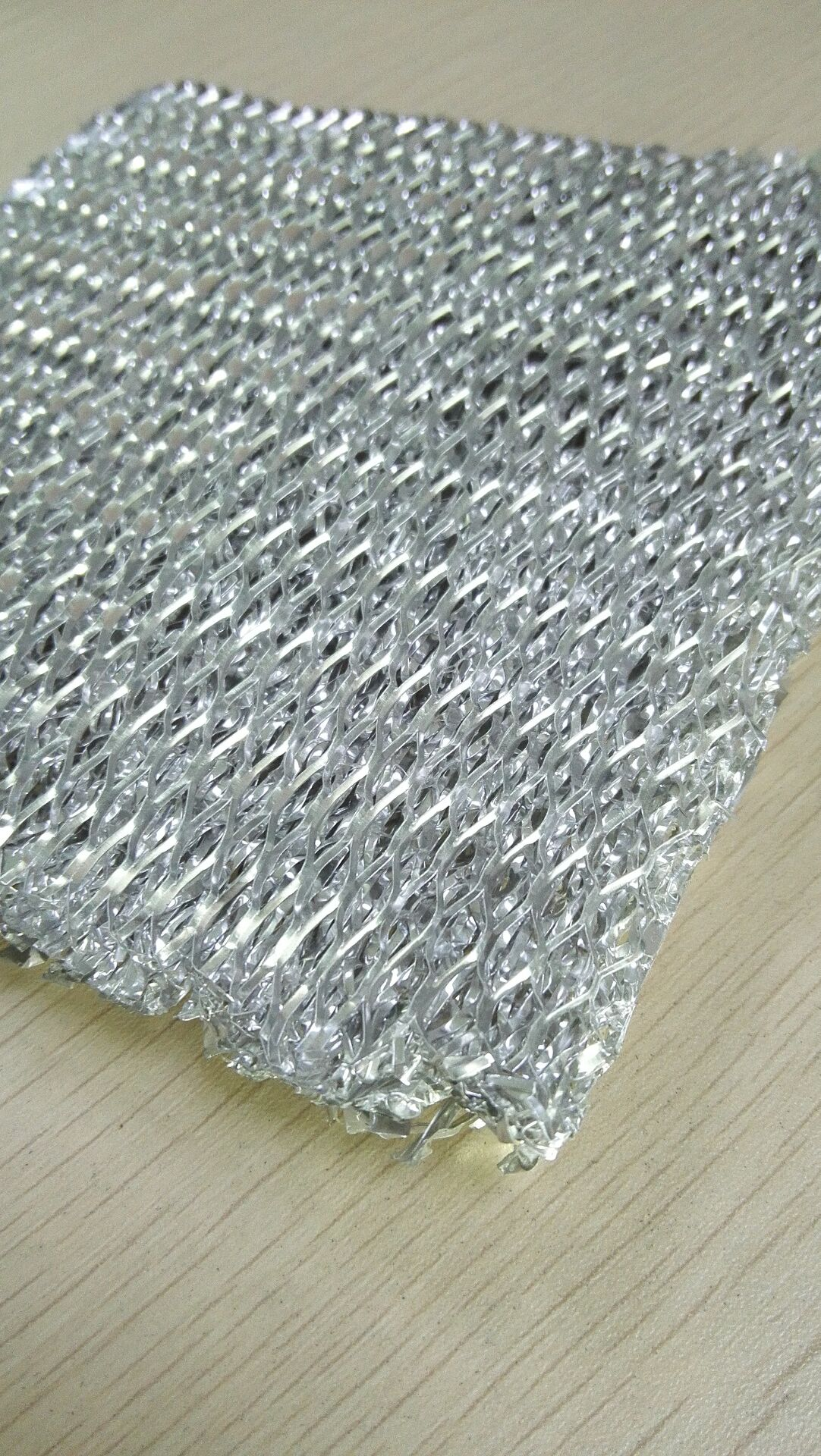 0.75mm Aluminum Foil Expanded Mesh. stretch metal mesh for filter