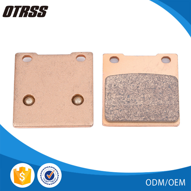 Long service life motorcycle parts sintered noise free brake pad