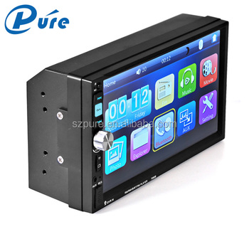 Bluetooth 7 Inch Car Video Player Video Format For Car Stereo Mp5