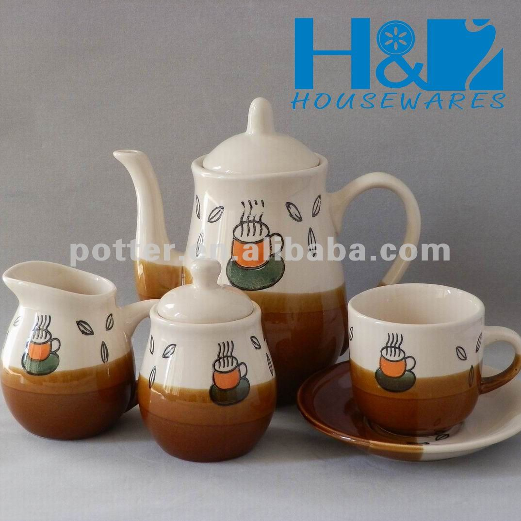 Crockery 17pc Coffee set is very popular in 2012