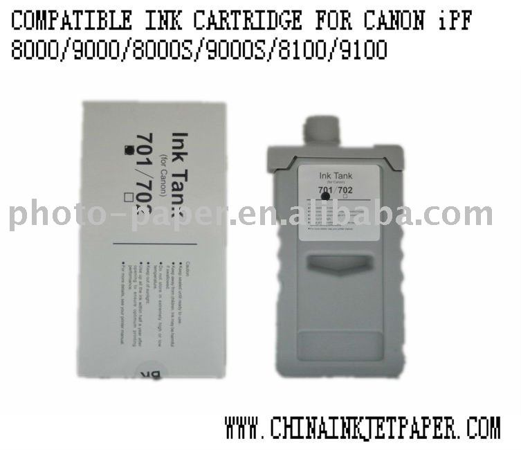 Compatible ink cartridge for Canon IPF 8100/ 9100