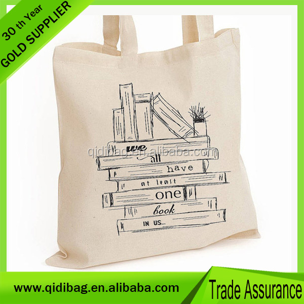 2015 Hot Sell 12oz cotton canvas tote bagg Factory Price
