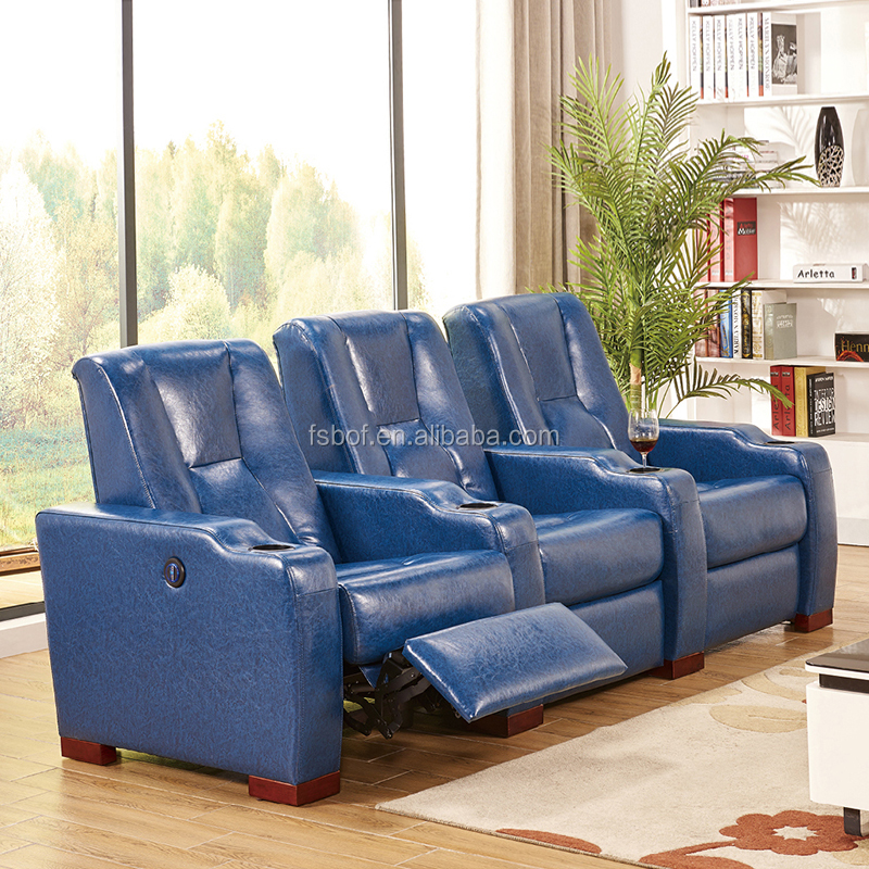 Cheers Leather Recliner With Cup Holder And Usb Sofa 9941
