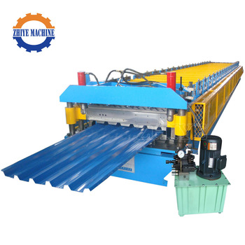 Double Layer Roofing Sheet Glazed Roof Tile Press Roll