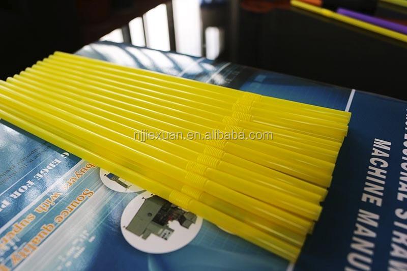 flexible drinking straw making machine