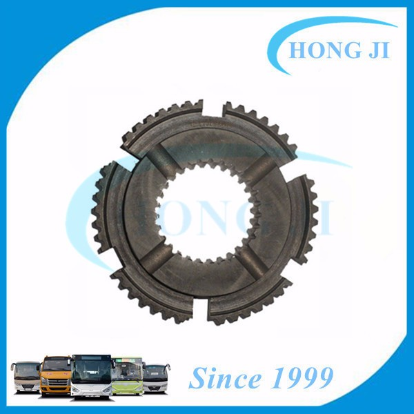 Synchronizer ring gear seat for auto transmission assembly