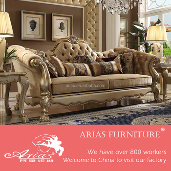High Quality 6410# French Country Style Sofa