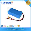 UL approved rechargeable power tool battery 18650 Li-ion 6800mAH 18v battery pack