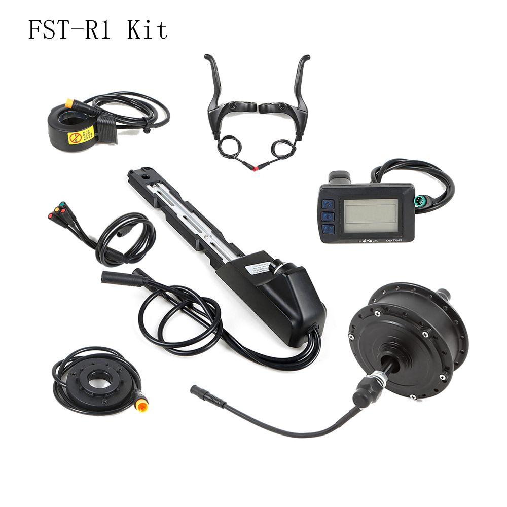 Electric Bike Manufacturer wholesale Electric bicycle malaysia rear hub conversion kit 36v / 48V / 250W / 350W / 500W, Black