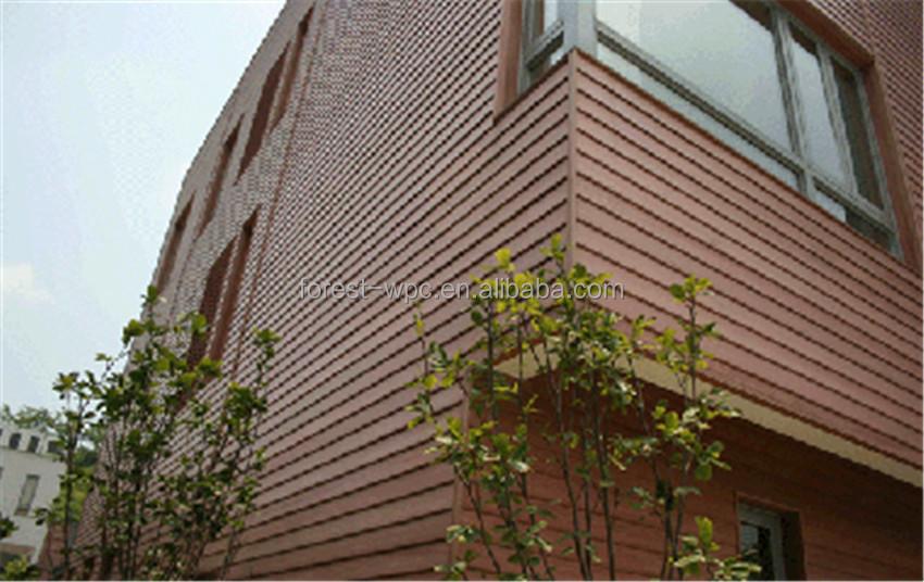150x13mm impermeable paneles de pared exterior - Paneles de madera para exterior ...