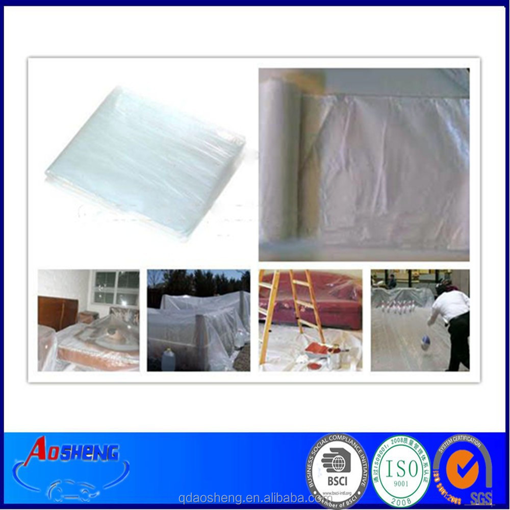 HDPE 4*5m Plastic Roll Sheet For Painting