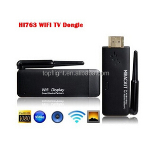 HI763 WIFI Display Dongle Adapter Miracast DLNA AirPlay Wireless Display Dongle for Android Smartphone Tablet iPhone iPad