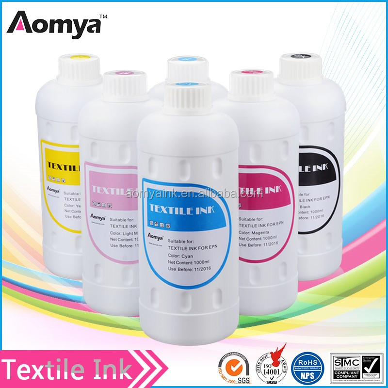 print on cotton directly water based digital textile pigment ink for Epson printer