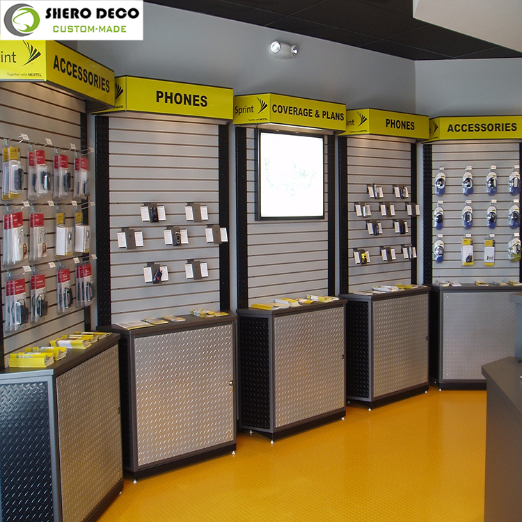 Exclusive Design Mobile Shop Display Showcases/Mobile Phone Display Furniture