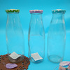 High Quality Food Grade Glass Material Flint Clear 16 oz Juice Bottle
