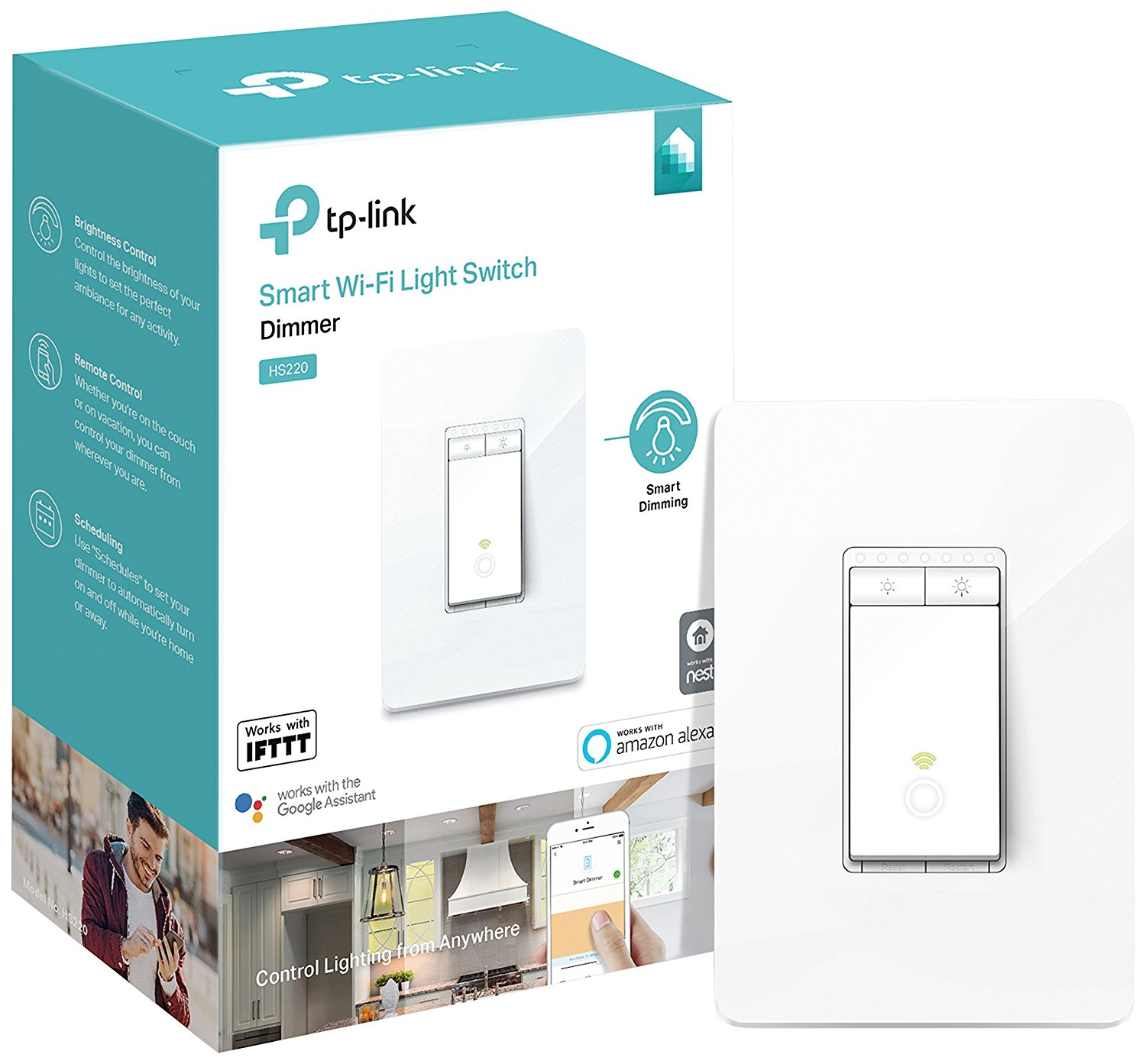 Cheap Single Pole Light Switch Installation Find Wire Get Quotations Kasa Smart Wi Fi Dimmer By Tp Link Dim Lighting