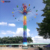 Professional Large Luxury Amusement Park 50m Spinning Chairs Drop Tower   Flyer Flying Tower