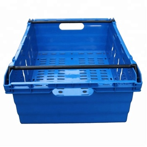 Rectangular PP Material Plastic Fruit Basket Mesh Food Plastic Crates Cheap China Factory Vegetable Container