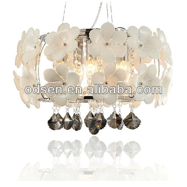flower chandelier crystal parts