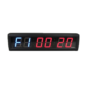 [Ganxin] 2.3 Inch Cross Training 2019 App Control Timer Optional Fitness Digital Abs Alarm Lazy Desk Clock