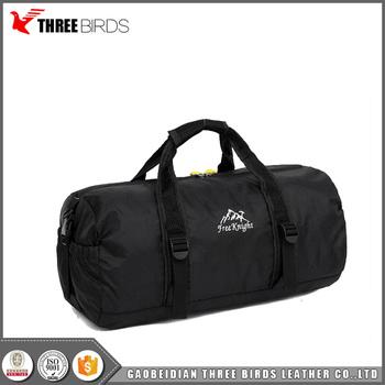 a3e035271490 China wholesale custom foldable travel duffel bag lightweight sport gym bag