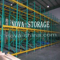 heavy duty gravity pallet racking / gravity carton flow racking