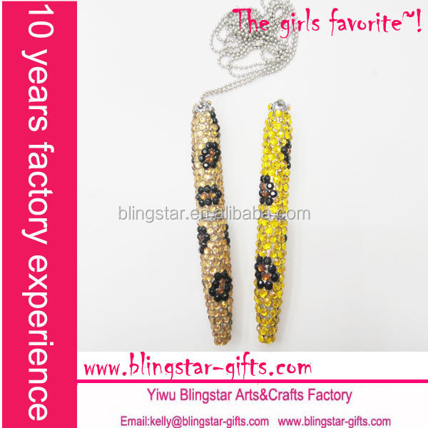 leopard decorative metal ballpoint pen