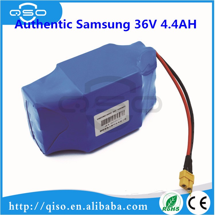 3.7v 2200mah 18650 li-ion battery packs 10s2p 4.4AH battery pack samsung