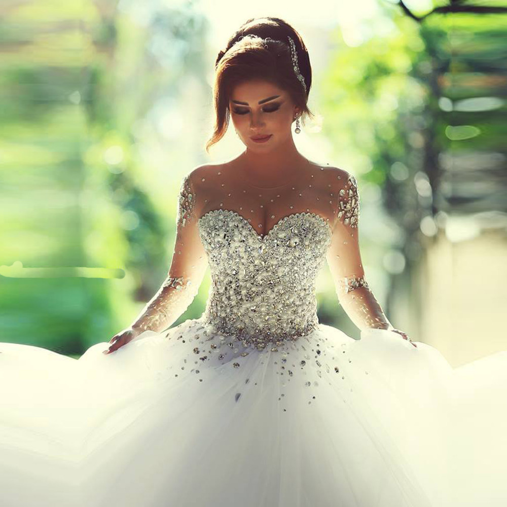 Celebrity Wedding Gown: New Arrival Celebrity Fashion Noble Sexy Vestidos De Novia