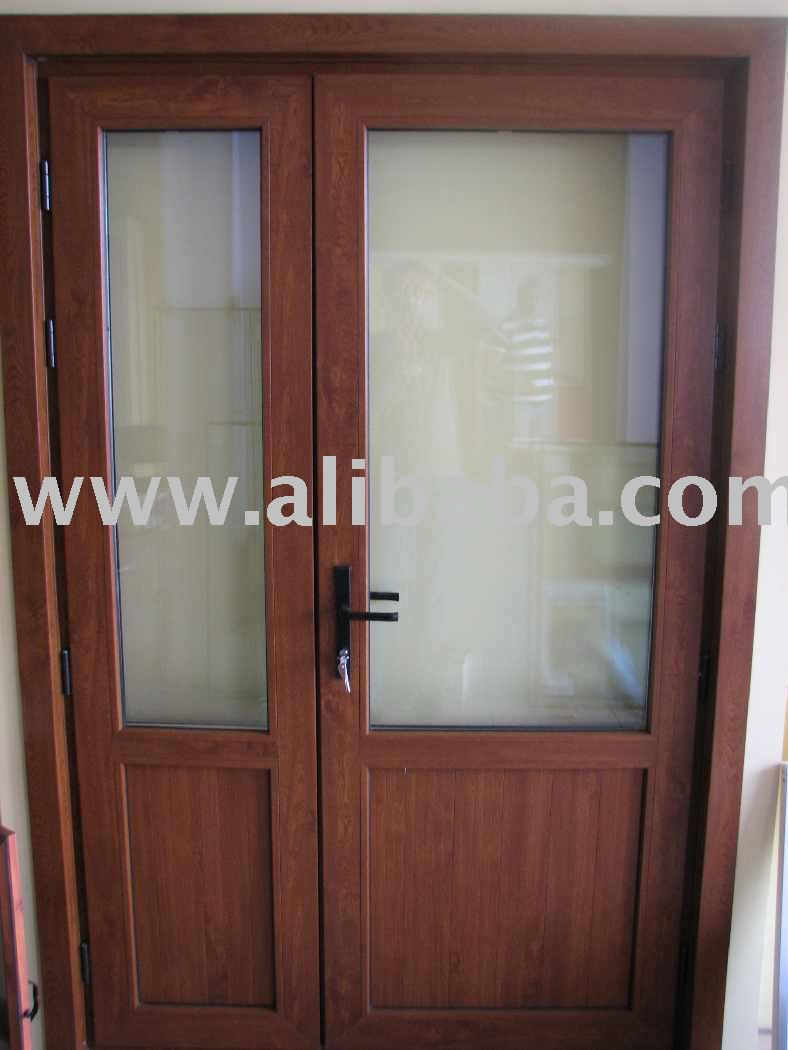 Puertas de pvc exterior awesome puertas de pvc exterior for Puertas para patio exterior