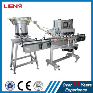 Automatic bottle screw cap sealing capping machine capper