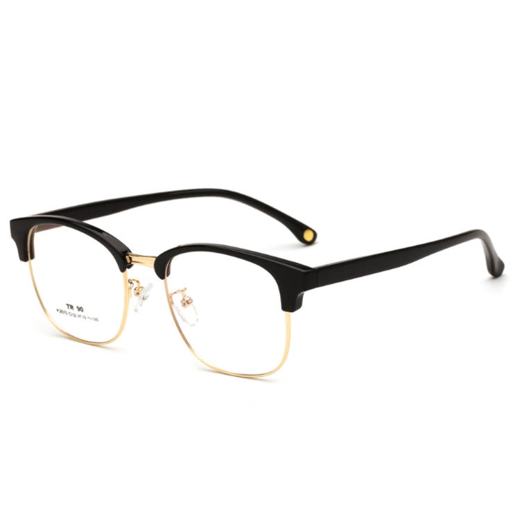 Metal Half frame New Type of Optical glasses for Men and Women
