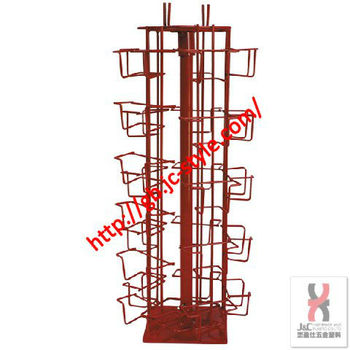 Red color countertop revolving greeting card display rackspinning red color countertop revolving greeting card display rackspinning business name card standstore m4hsunfo