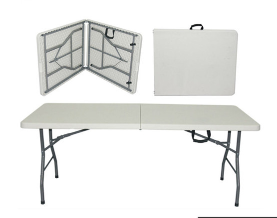 Brand new plastic folding table and chair abs folding table
