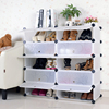 Large size cheap plastic cubby shoe storage cabinet (FH-AW151012-10)