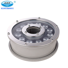 18W high performance led light led underwater fountain light DMX 512 control