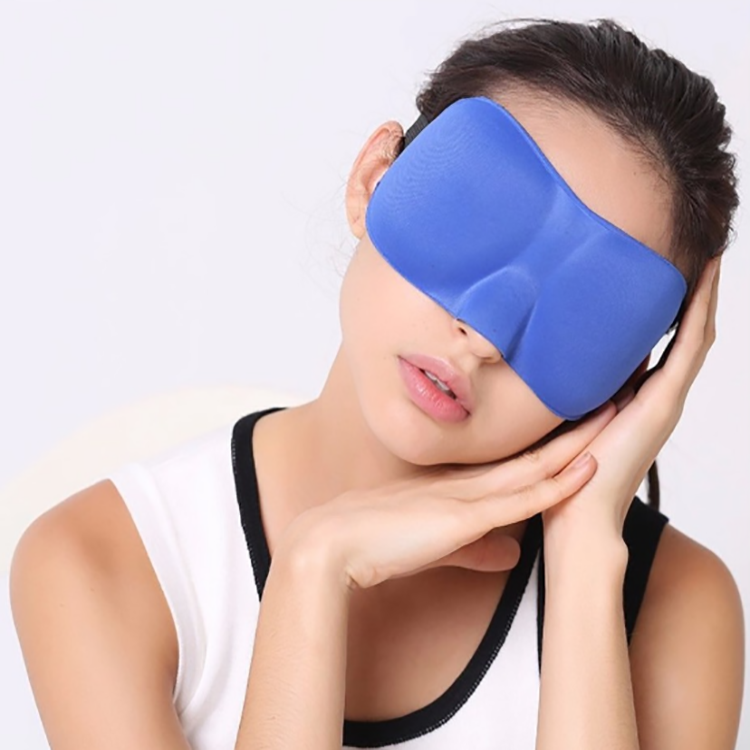 Factory Fashion Memory Foam Sleep Covers 3D Eye Mask With Ear Plugs