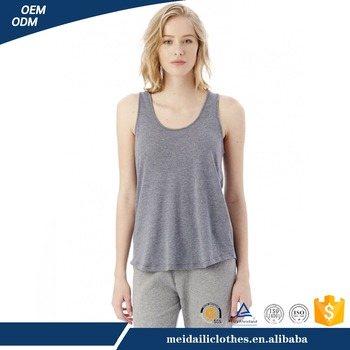 Manufacturer Wholesale European Casual Sleeveless Womens Tank Top
