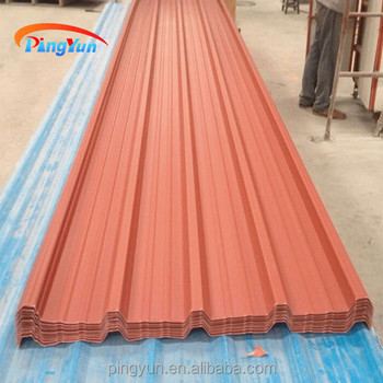 Synthetic Roof Tile Raw Material For Corrugated Roofing
