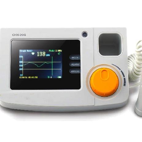 עוברי קצב לב דופלר LCD צג dopler עבור בהריון FHR