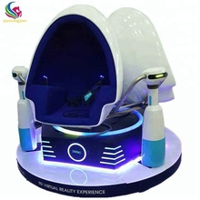 Guangdong manufacturer 9d egg chair 3 seats 360 degree virtual reality game simulator cinema