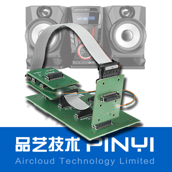 Multilayer HASL green soldermask PCBA for Access Control Systems