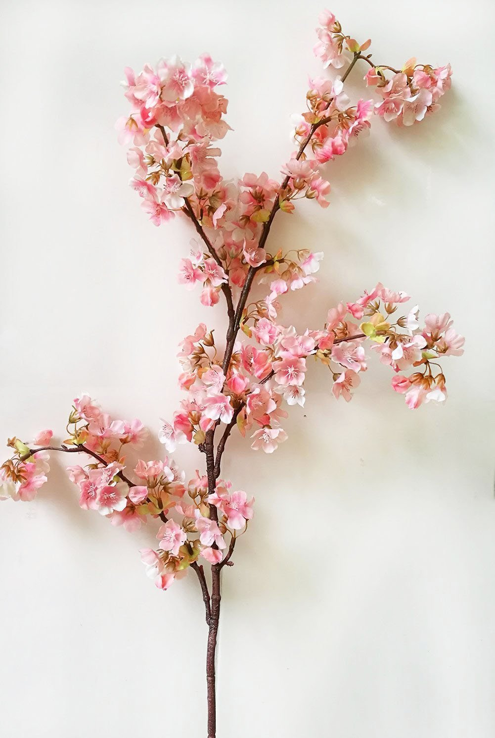 Artificial Cherry Blossom Branches Flowers Stems Silk Tall Flower Arrangements For Home Wedding Decoration