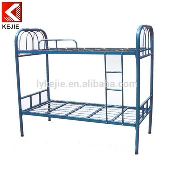 Detachable Girls Bunk Bed Factory 3 Tier Metal Iron Bed Economic