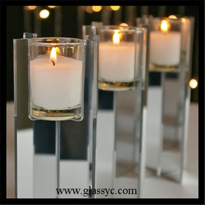 custom design mirrored Acrylic Votive Candle acrylic candle