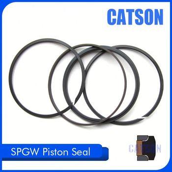 707-44-15190 Heavy Duty Excavator Parts Ptfe Rubber Piston Seal ...